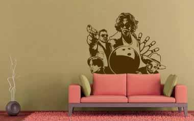 Vinilo decorativo - Gran Lebowsky