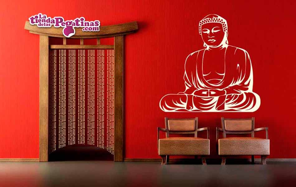 Vinilo decorativo - Buda