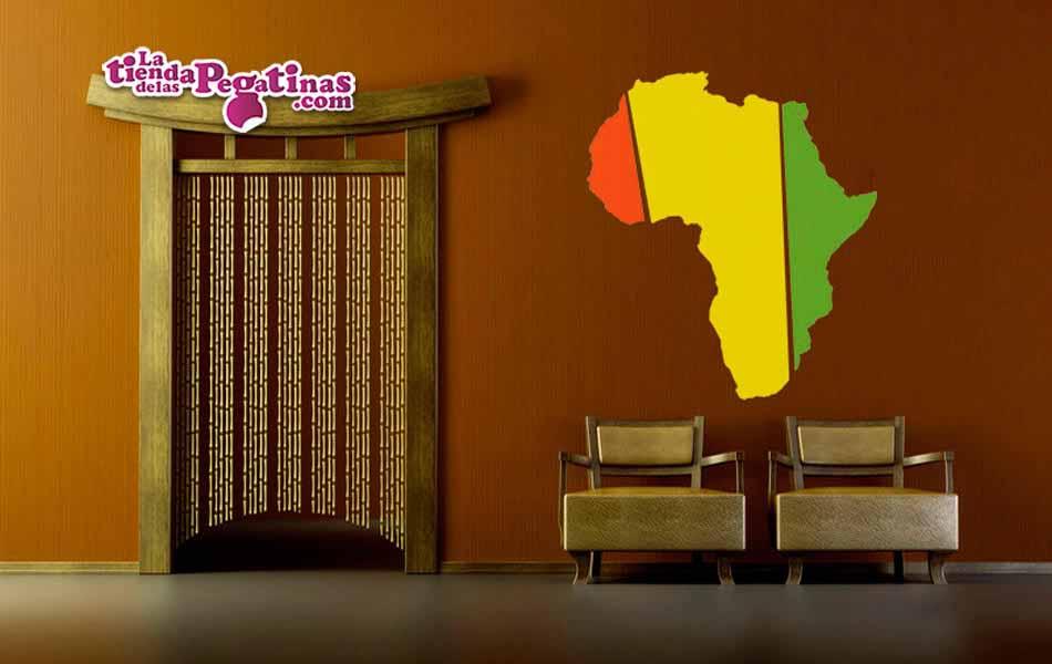Vinilo decorativo - Africa Multicolor