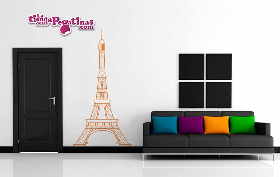 Vinilo Torre Eiffel 2