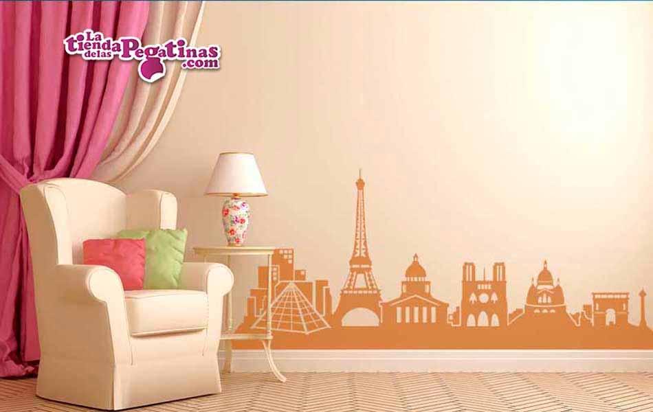 Vinilo Skyline de Paris