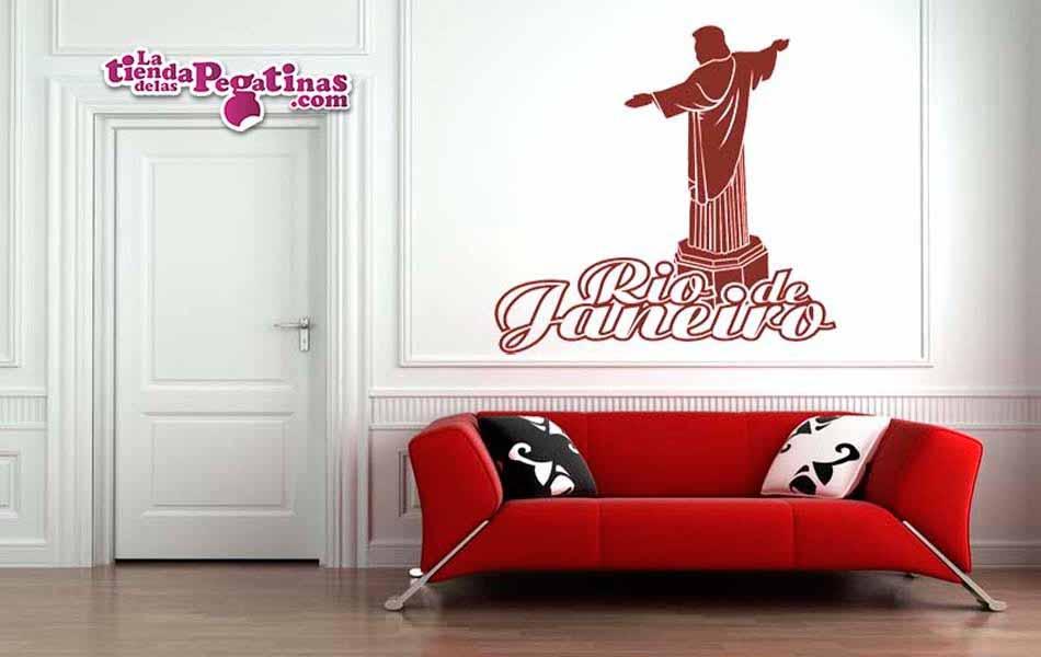 Vinilo decorativo - Cristo de Rio