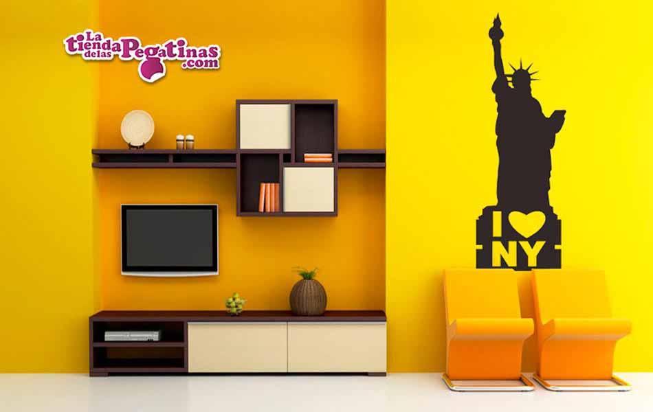 Vinilo decorativo - I Love NY