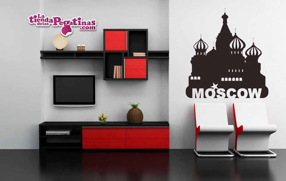 Vinilo decorativo - Plaza Roja Moscú