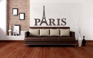 Vinilo decorativo - Paris