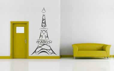 Vinilo decorativo - Torre Eiffel