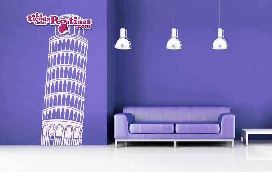 Vinilo decorativo - Torre de Pissa