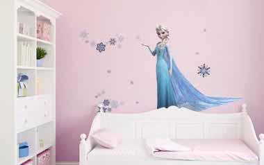 Vinilo infantil - Frozen Reina Elsa