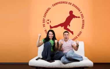 Vinilo decorativo - Futbol España