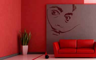 Vinilo decorativo - Salvador Dalí