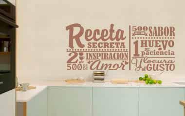Vinilo La receta secreta