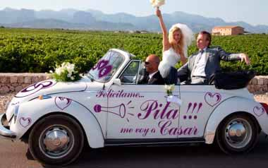 Vinilo decorativo - Kit para boda