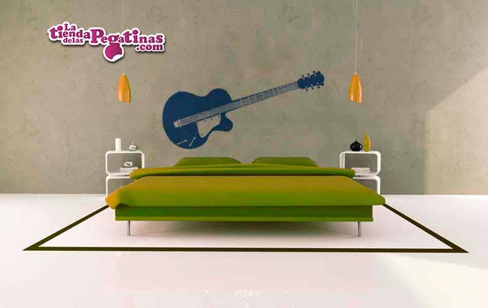 Vinilo decorativo - Guitarra Electrica