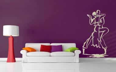 Vinilo decorativo - Baile de Dos
