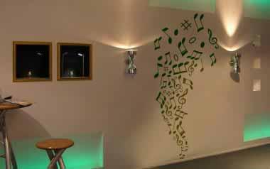 Vinilo decorativo - Escape musical