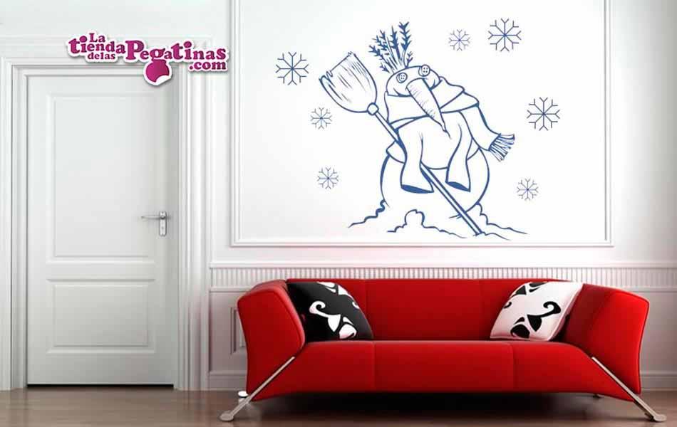 Vinilo Decorativo Hombre De Nieve02 La Tienda De Las Pegatinas