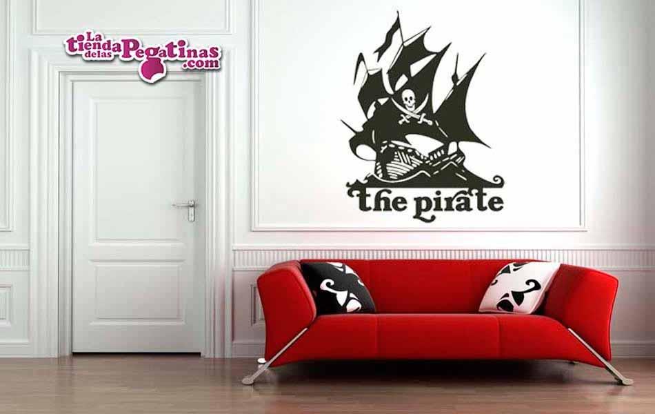 Vinilo decorativo - Boat Pirate