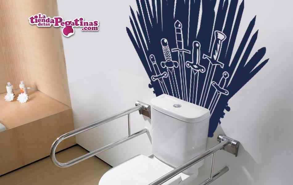 Vinilo decorativo tronos en juego la tienda de las pegatinas for Tu vinilo decorativo