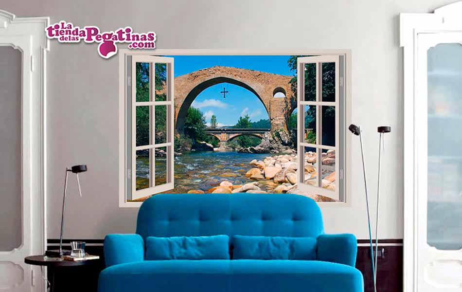 vinilo decorativo ventana a asturias