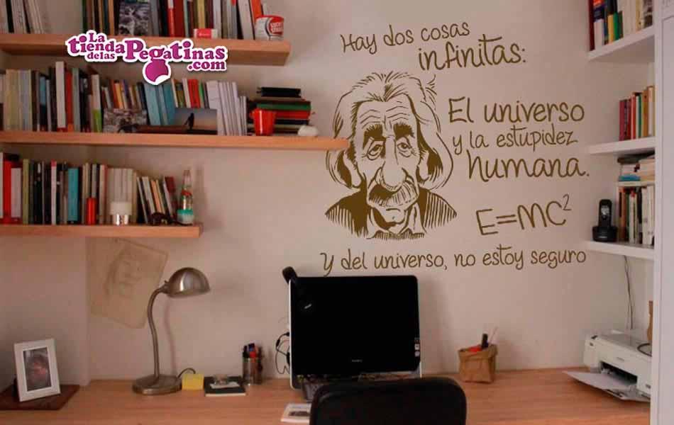 Vinilo Einstein infinito