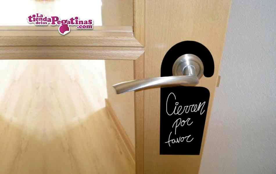Vinilo colgadores de puerta la tienda de las pegatinas - Colgadores para puertas ...
