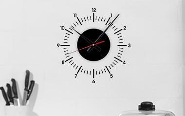 Vinilo Reloj Clásico S