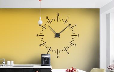 Vinilo Reloj Clásico XL