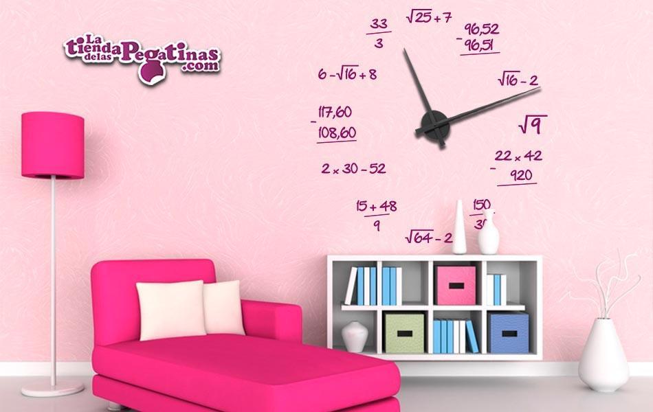 ad7e055cfcf5 La Tienda de las Pegatinas Comprar Reloj Matemático XL