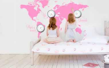 Vinilo Reloj yo y