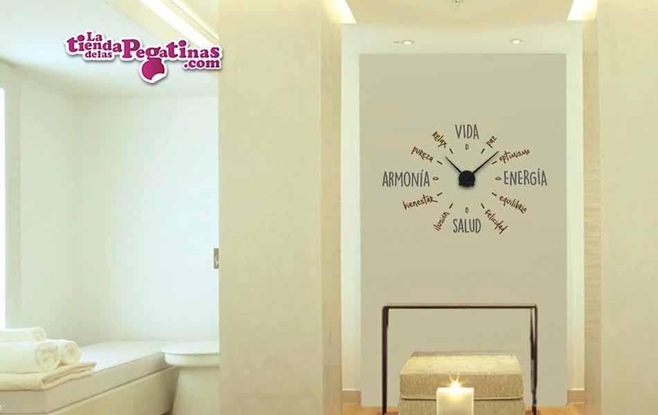 Vinilo decorativo - Reloj Zen -M-