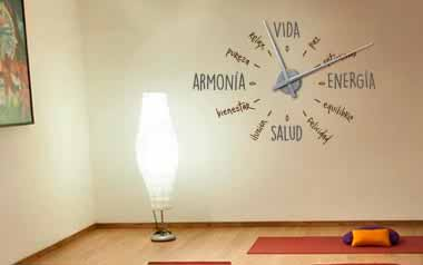 Vinilo decorativo - Reloj Zen -XL-