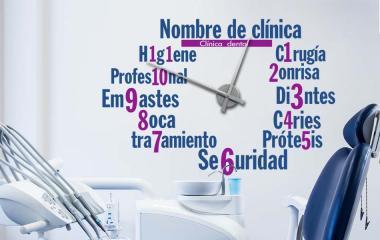 Vinilo - Reloj para dentistas -XL