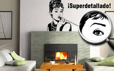 Vinilo decorativo - Audrey Hepburn