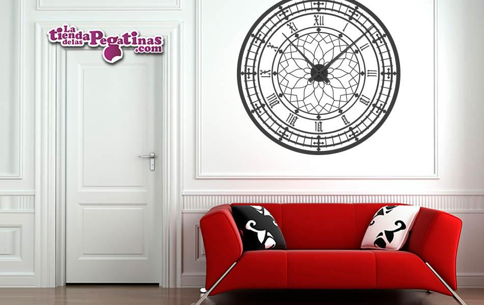 Vinilo Reloj decorativo Big Ben Londres XL