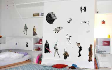 Vinilo decorativos - Star Wars Personajes