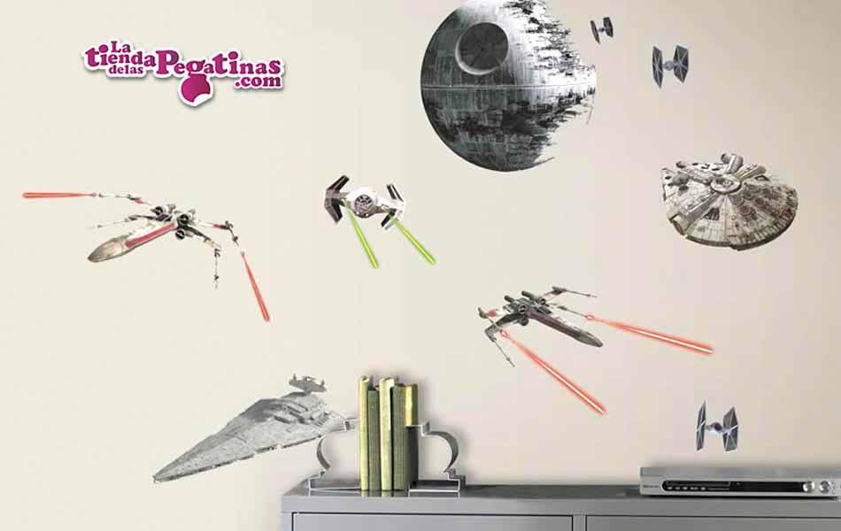 Vinilo decorativo - Star Wars Naves