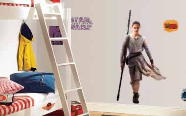Vinilo decorativo - Star Wars REY