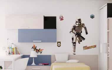 Vinilo decorativo - Star Wars Stromtrooper