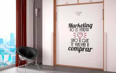 Vinilo Las bondades del marketing