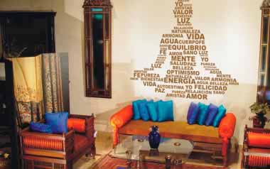 Vinilo decorativo - Texto Buda
