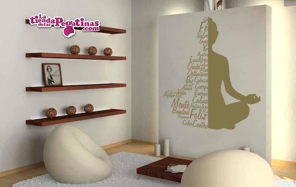 Vinilo decorativo texto buda 2 la tienda de las pegatinas - Vinilos decorativos textos ...