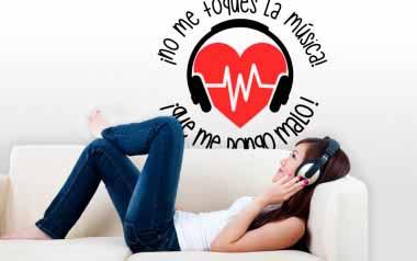 Vinilo - No me toques la musica