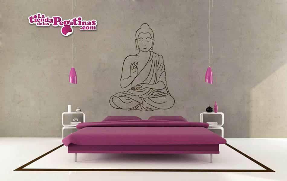 Vinilo decorativo - Buda Religioso