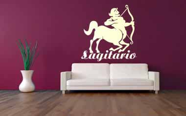 Vinilo decorativo - Sagitario