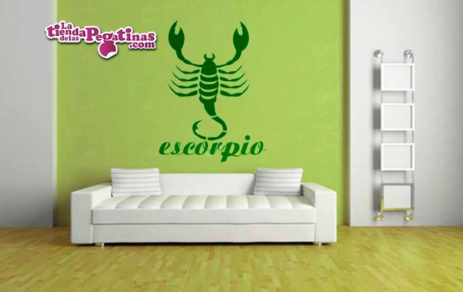 Vinilo decorativo - Escorpio