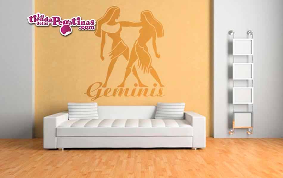 Vinilo decorativo - Geminis