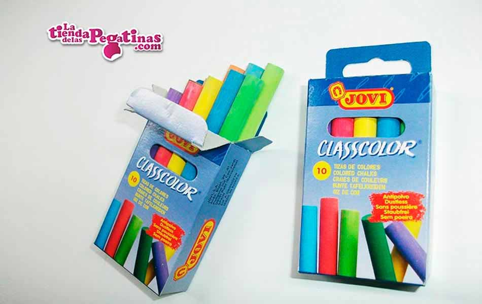 Caja de tizas de colores