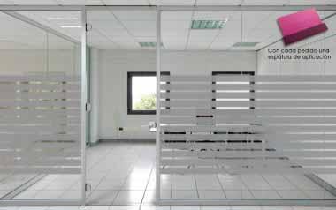 Vinilo cido de bandas medianas alto 117 cm for Vinilos decorativos para oficinas