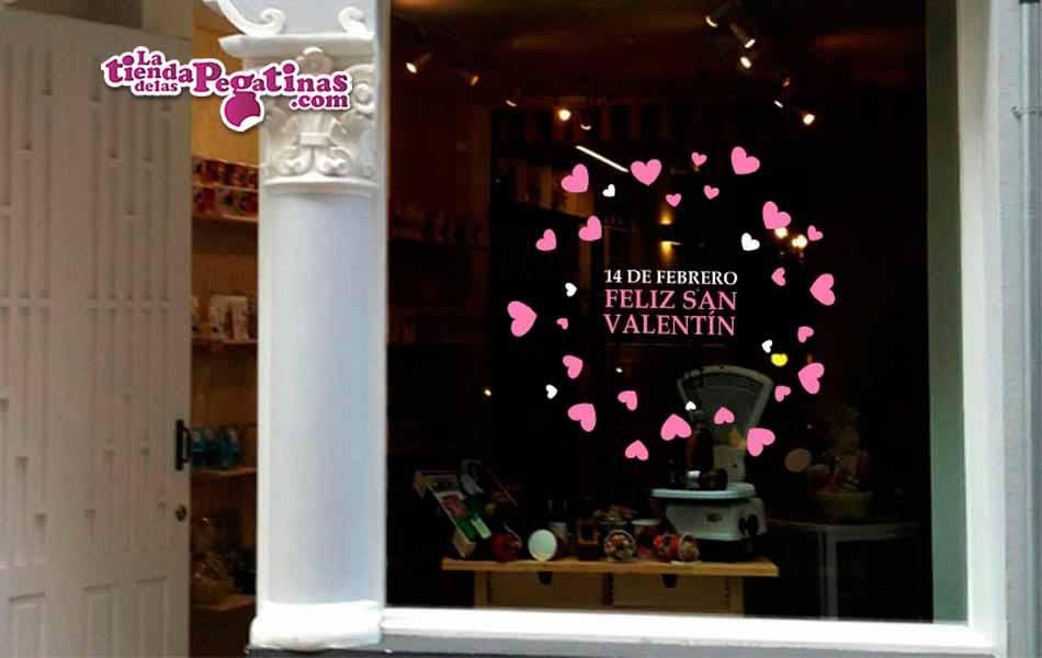 Vinilo Feliz San Valentín 2