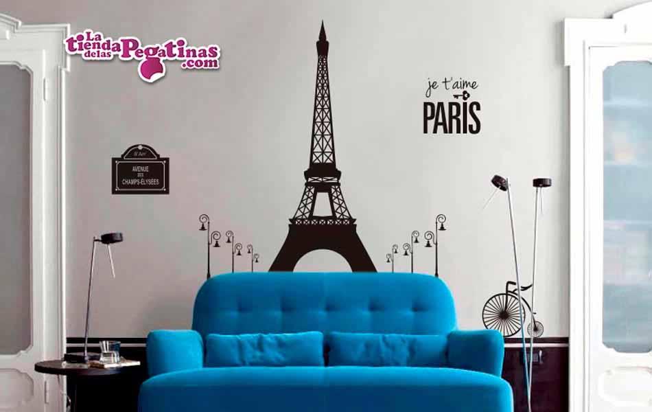 Vinilo París elementos